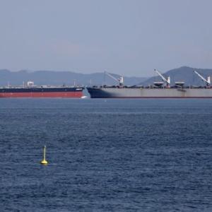 大型船ニアミス