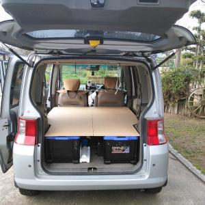 CX-5車内泊仕様