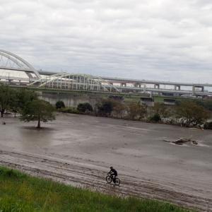 上江橋まで×!無常の荒サイ大芦橋122kmライド