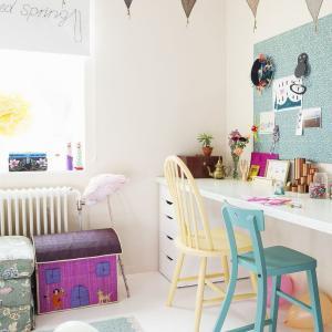 女の子の夢の子供部屋