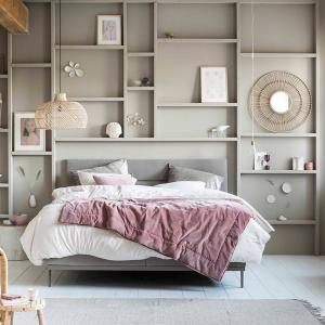 モダンロマンティック ベッドルーム