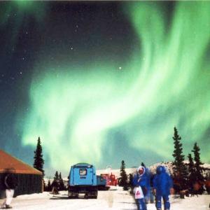 10月限定特別価格!自然の神秘オーロラをアラスカ・チナ温泉で見よう!