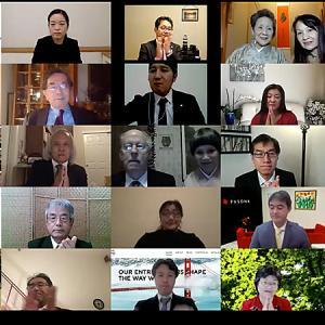 在サンフランシスコ日本国総領事館主催 新年祝賀会をオンラインで開催