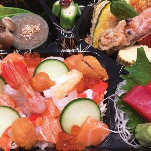 【今週のTo Go】日本から空輸された北海道名産の海鮮!北海道ちらし御膳 by Sanraku