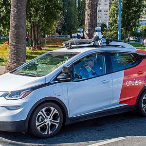 カリフォルニアに無人自動運転タクシー GM Cruiseに初認可