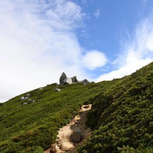 日本三百名山 越百山へ☆その3 山頂&下山♩