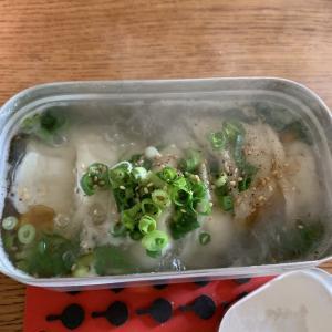 メスティン研究☆水餃子スープ