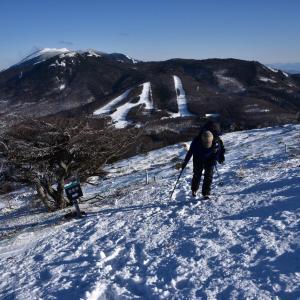 雪山登山☆湯ノ丸山へ♩