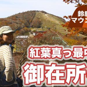 鈴鹿セブンマウンテン 紅葉の御在所岳に行ってきました⭐︎動画編