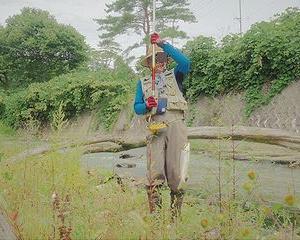 9月 里川のブラウン釣り