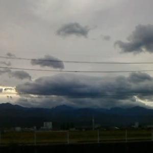 今朝の「剣岳」