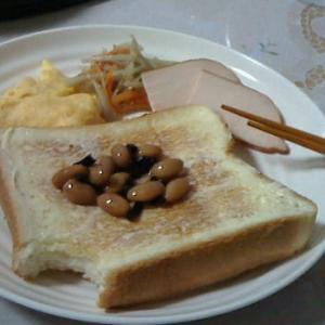 朝食です…