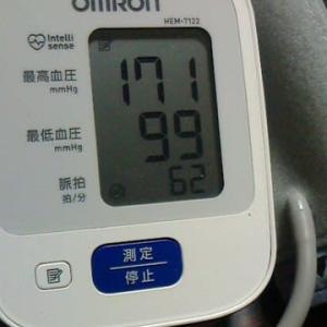 血圧数値・・・・・