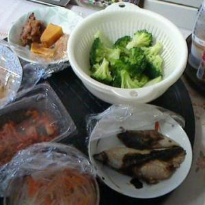 本日の昼食です