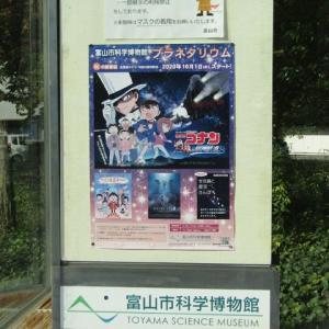 富山科学博物館の紅葉