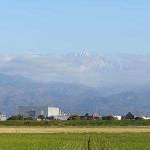 本日の立山連峰