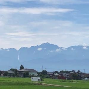 レインボー&立山連峰