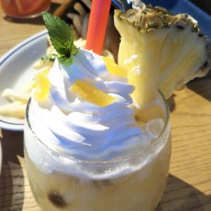 デザートのようなスイーツのようなパイナポーでカフェタイム〜in新宿