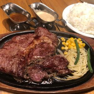 ライオンサイズのステーキを白ワインのソースで食べる in御徒町