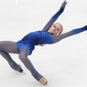 トゥルソワは女子シングルで史上初の4回転フリップを決めた