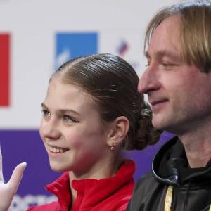 プルシェンコ:チャンネル1カップのジャンプ大会はトゥルソワの夢の実現