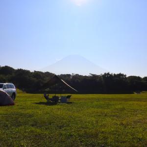 【朝霧ジャンボリーオートキャンプ場】富士山が眺めれるサイトはコレ!