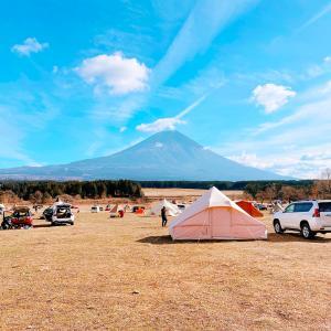 【ふもとっぱらキャンプ場】富士山をダイレクトに感じれるサイトをチェック!