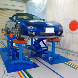 FD3S RX-7 アライメント調整