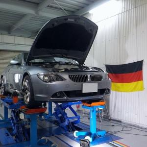BMW645Ci アライメント調整