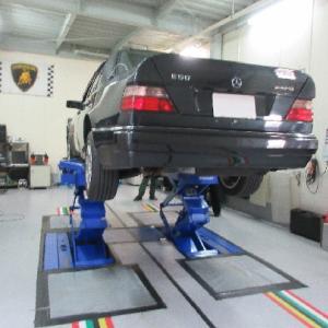 W124 アライメント調整