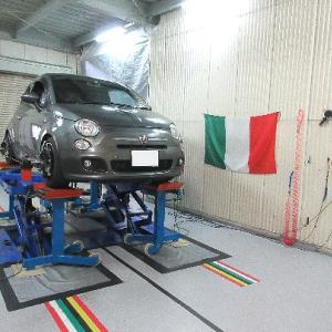 FIAT 500 S アライメント調整