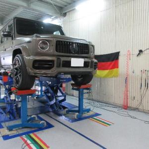 G63 AMG  アライメント調整