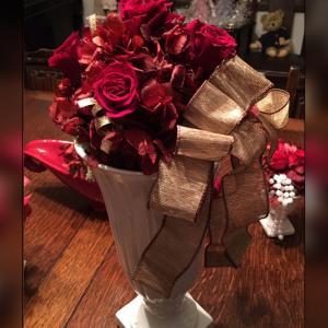 テーブルやコンソールに置くお花達