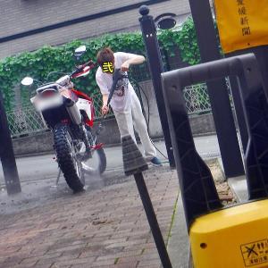 洗車♪⌒ヽ(*゚ω゚)ノ