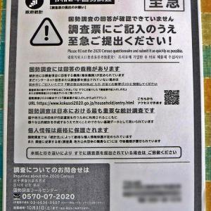 国勢調査♪⌒ヽ(*゚ω゚)ノ提出期限
