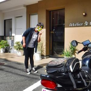 アトリエ・ファニーにバイクが・・・♪⌒ヽ(*゚ω゚)ノ