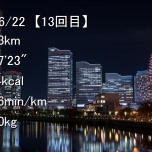 ジョギング記録【その13】