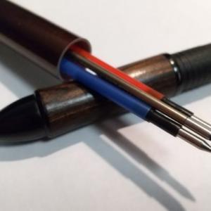 多色フリクションボールペンのうち一本だけ消えないペンに改造する方法!【リフィルアダプター(PF-01)を自作してみた!】