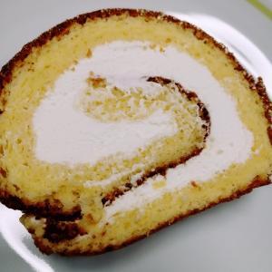 ロールケーキを作った