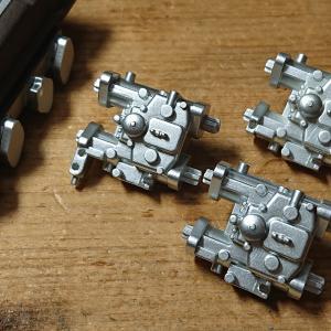 DeAGOSTINI ケンメリGT-R 【05号】キャブレター・インマニの形状修正③完了