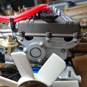 DeAGOSTINI ケンメリGT-R 【07号】エンジンフロントカバーとリア側を修正する