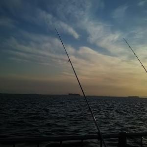 久しぶりの投げ釣り