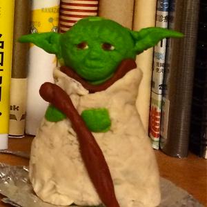 スター・ウォーズ  ヨーダを粘土で作ってみた!