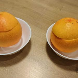 手作りグレープフルーツゼリー