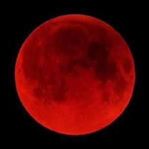 6月20日 赤い月