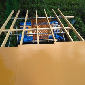 鶏小屋を作ろう⑧【屋根-前編】