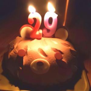 誕生日を祝ってもらいました!