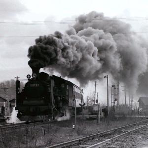 昭和48年蒸気機関車C5757 室蘭本線にて(撮影地不明)