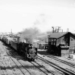 昭和50年蒸気機関車D51149 室蘭本線追分駅構内で撮影