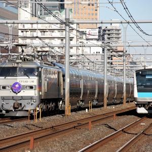 カシオペアと京浜線が競争だ!!
